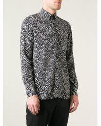 Saint Laurent Black Heart Shirt for men