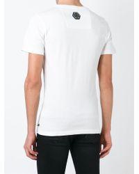 Philipp Plein | White Blame Society T-shirt for Men | Lyst