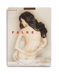 Falke | Brown 'shelina 12 Denier' Ultra Sheer Stockings | Lyst