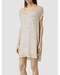 AllSaints Natural Ales T-shirt Dress