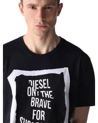 DIESEL - Black T-pasc for Men - Lyst