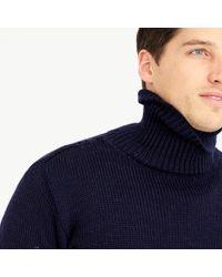 J.Crew Blue North Sea Clothing Diver Turtleneck Sweater for men