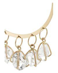 Melissa Joy Manning - Metallic 14-Karat Gold Herkimer Diamond Earrings - Lyst