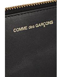 Comme des Garçons - Black Leather Pouch - Lyst