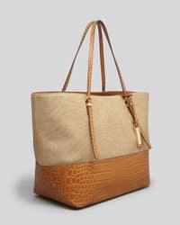 Michael Kors Tote Gia Novelty Double Layer East West In