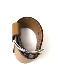 Givenchy - Natural Wide Buckle Cuff - Lyst