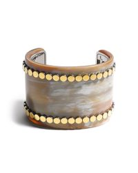 John Hardy | Yellow Dot Wide Cuff | Lyst