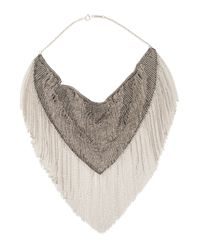 Isabel Marant | Metallic Small Silver Skull Necklace | Lyst