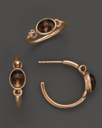 Di Modolo | Metallic 18k Rose Gold Plated Sterling Silver Lolita Gift Set With Smoky Quartz | Lyst