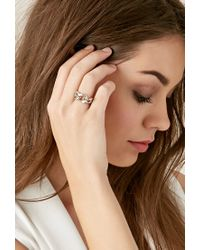 Forever 21 - Metallic Haati Chai Silv Ring - Lyst