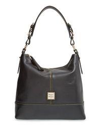 Dooney & Bourke | Black Seville Sophie Leather Hobo | Lyst