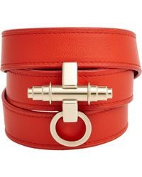 Givenchy | Orange Obsedia Wrap Bracelet | Lyst