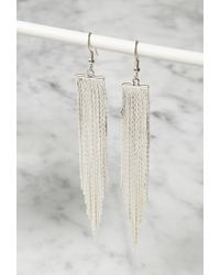 Forever 21 - Metallic Lucky Star The Strand Earrings - Lyst