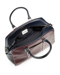 Ben Sherman | Purple Iconic Faux Leather Duffel Bag for Men | Lyst