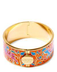 Liberty - Orange Imran Multicolour Thick Cuff - Lyst