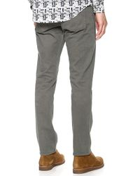 Theory - Gray Haydin Jeans for Men - Lyst
