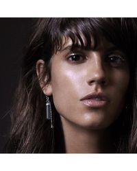 Maniamania | Metallic Idol Sterling Silver Earring | Lyst