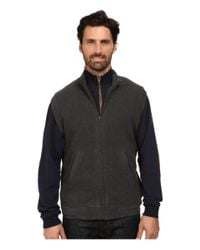 Woolrich | Black Bromley Vest for Men | Lyst