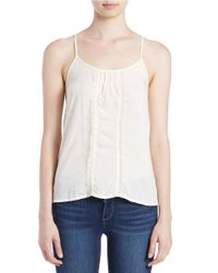 Free People | White Strappy Tank | Lyst