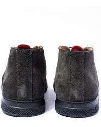 Oliver Spencer | Gray Dark Grey Beat Chukka Boots for Men | Lyst