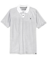 Hurley | White Saloon Polo for Men | Lyst