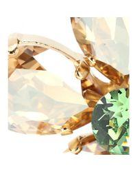 Dolce & Gabbana - Metallic Embellished Clip-on Earrings - Lyst