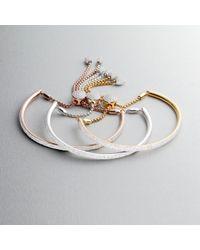 Monica Vinader - Pink Fiji Full Diamond Bracelet - Lyst