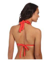 Lauren by Ralph Lauren - Red Beach Club Hipster Bikini Bottoms - Lyst