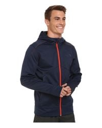 The North Face | Blue Ampere Full Zip Hoodie for Men | Lyst