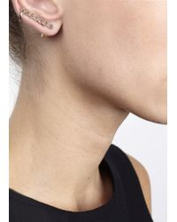 Eddie Borgo - Metallic Rose Gold Tone Pavé Crystal Ear Cuff - Lyst