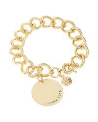 Trina Turk | Metallic California Chic Charm Bracelet | Lyst