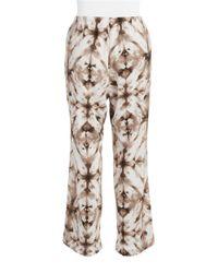 Calvin Klein | Natural Plus Tie-dyed Pants | Lyst