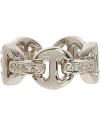 Hoorsenbuhs - White Dame Tri-link Ring - Lyst