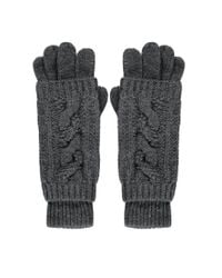 Forever 21 - Gray 2-in-1 Cable Knit Gloves You've Been Added To The Waitlist - Lyst