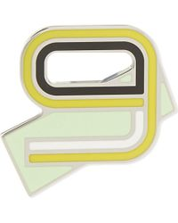 Proenza Schouler | Multicolor Number 9 Enamelled Brass Pin - For Women | Lyst