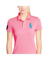 Ralph Lauren | Pink Us Open Big Pony Polo | Lyst