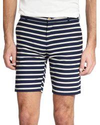 Gant Rugger Blue The Stripe Shorts for men