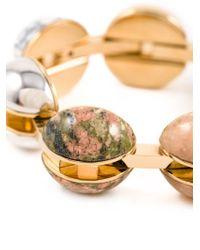 Chloé - Metallic 'ellie' Bracelet - Lyst