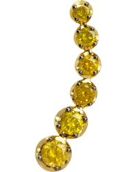 Annoushka | Dusty Diamonds 18ct Yellow-gold And Diamond Left Ear Pin | Lyst