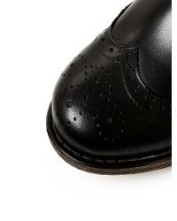 Moda In Pelle Black Calisee Low Casual Short Boots