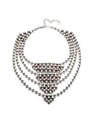 DANNIJO | Metallic Elizabeth Necklace | Lyst