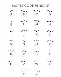 BaubleBar - Metallic Acrylic Morse Code Bar Pendant - Lyst