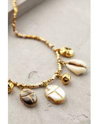 Anthropologie   Metallic Nautical Charm Necklace   Lyst