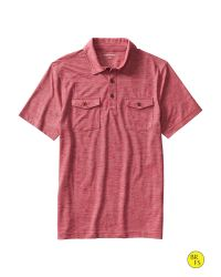 Banana Republic | Red Factory Pocket Polo for Men | Lyst