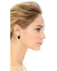 Tom Binns | White Dumont Pearl Noir Crystal Stud Earrings | Lyst