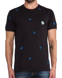 Marc By Marc Jacobs | Blue Ladybug Tee in Black for Men | Lyst