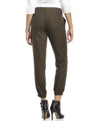 DKNY | Green Twill Carpenter Pants | Lyst