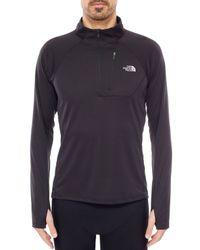 The North Face Black Impulse Active Nylon Running Sweatshirt
