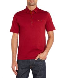 Farah - Red Barney Polo for Men - Lyst