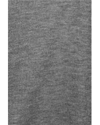 Helmut Lang - Gray Voltage Fine-knit Ribbed Micro Modal Tank - Lyst